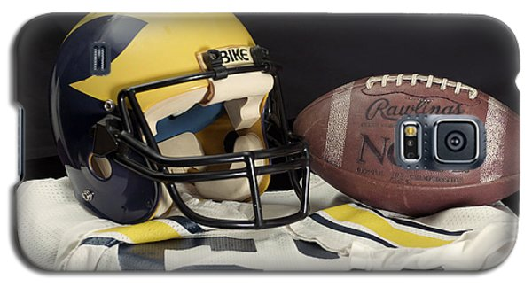 Wolverine Helmet With Jersey And Football Galaxy S5 Case
