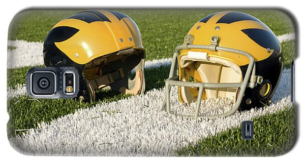 Wolverine Helmets From Different Eras On The Field Galaxy S5 Case