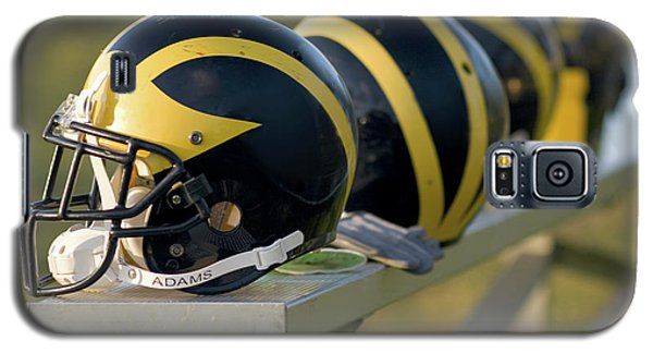 Wolverine Helmets On A Bench Galaxy S5 Case