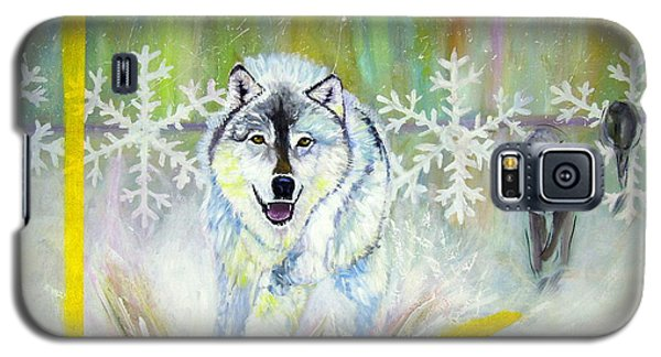 Wolves Approach Galaxy S5 Case