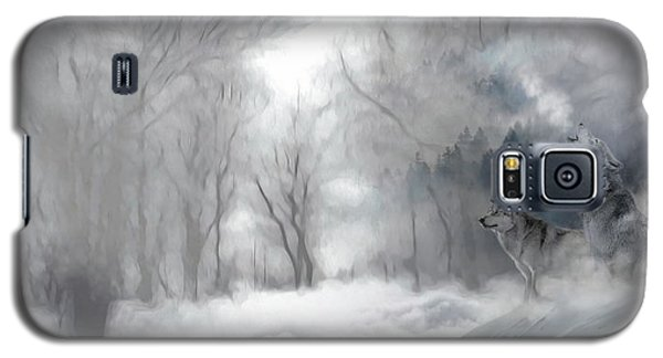 Wolves In The Mist Galaxy S5 Case