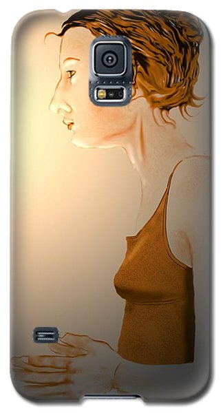 Woman 15 Galaxy S5 Case by Kerry Beverly