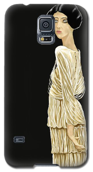 Woman 36 Galaxy S5 Case by Kerry Beverly