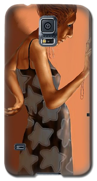 Woman 37 Galaxy S5 Case by Kerry Beverly