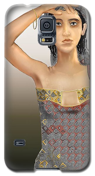 Woman 5 Galaxy S5 Case by Kerry Beverly