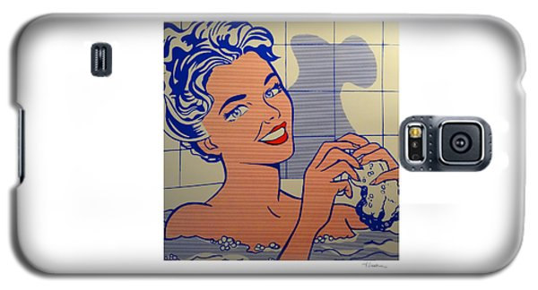Woman In Bath Galaxy S5 Case
