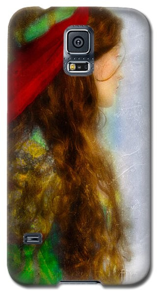 Woman In Medieval Gown Galaxy S5 Case