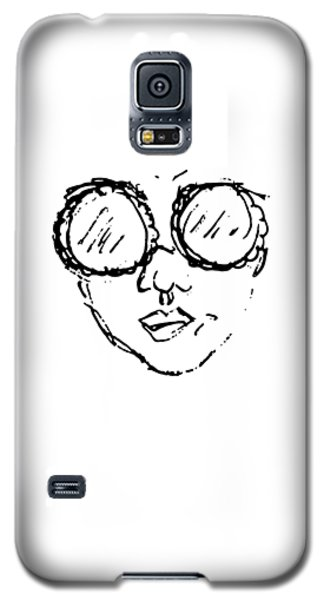 Woman In Sunglasses Galaxy S5 Case