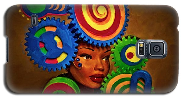 Woman Of Colors  Galaxy S5 Case by Jeff  Gettis
