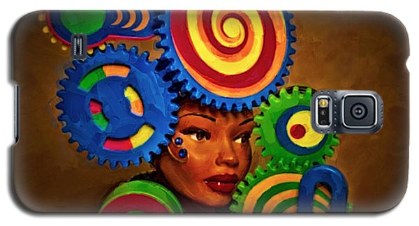 Woman Of Colors  Galaxy S5 Case