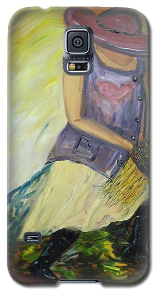 Woman Of Wheat Galaxy S5 Case