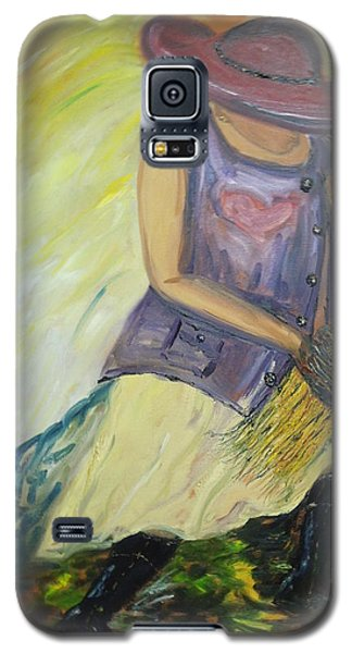 Woman Of Wheat Galaxy S5 Case