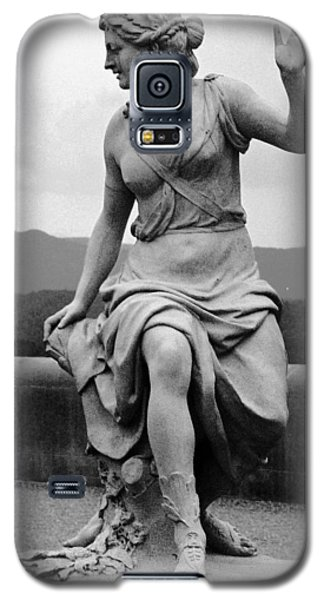 Galaxy S5 Case featuring the sculpture Woman Sculpture Nc by Eric  Schiabor