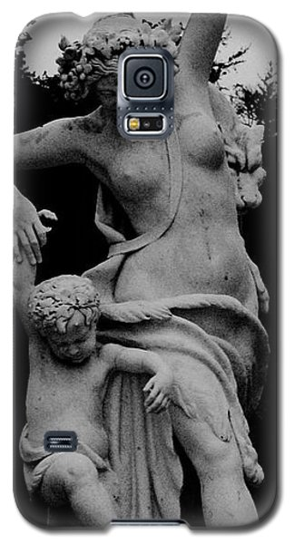 Galaxy S5 Case featuring the painting Woman Statue by Eric  Schiabor