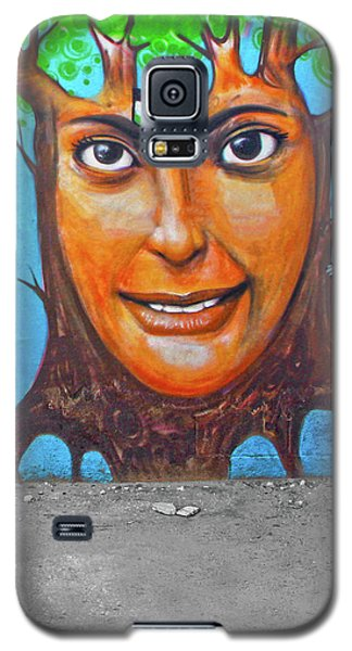 Galaxy S5 Case featuring the photograph Woman Tree by Munir Alawi