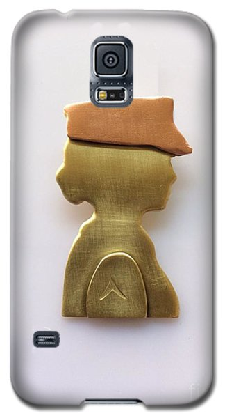 Galaxy S5 Case featuring the jewelry Woman Veteran Pendant by Melany Sarafis