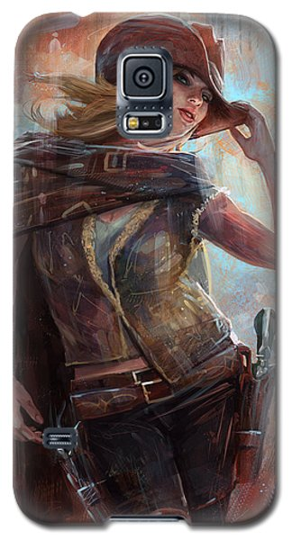 Woman With No Name Galaxy S5 Case