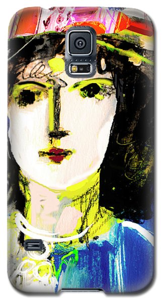 Woman With Party Hat Galaxy S5 Case