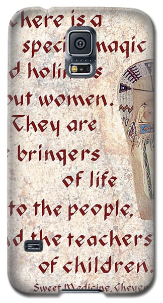 Women Bring Life Galaxy S5 Case