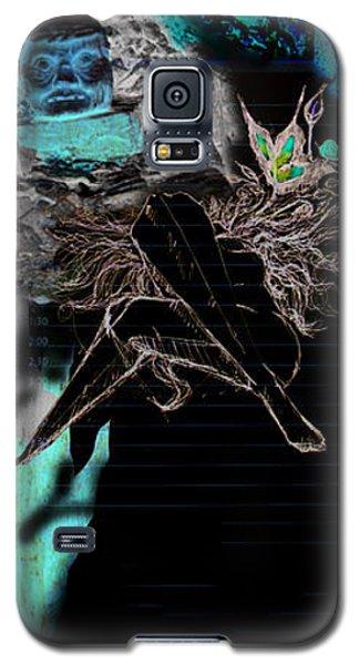Women Rose Galaxy S5 Case
