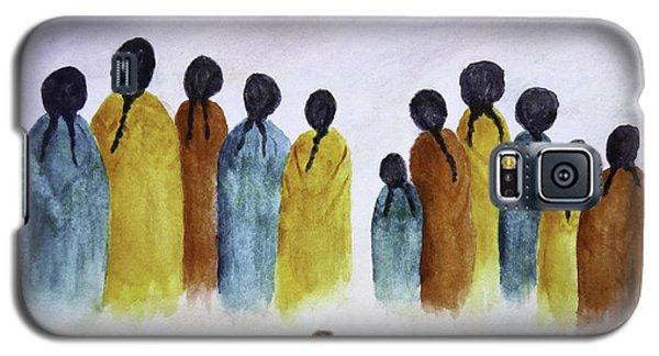 Women Waiting Galaxy S5 Case
