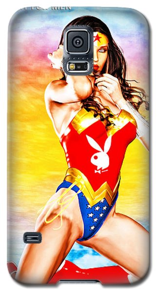 Wonder Woman 2085 Galaxy S5 Case
