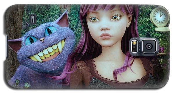 Wonderland Alice Galaxy S5 Case by Jutta Maria Pusl