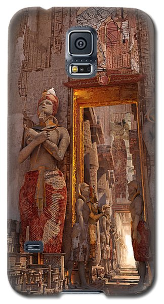 Wonders Door To The Luxor Galaxy S5 Case by Te Hu