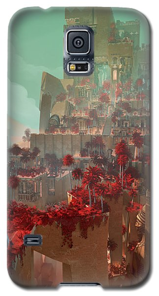 Wonders Hanging Garden Of Babylon Galaxy S5 Case by Te Hu