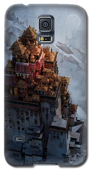 Wonders Holy Temple Galaxy S5 Case by Te Hu