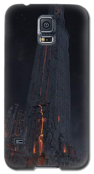 Wonders Lighthouse Of Alxendria Galaxy S5 Case by Te Hu