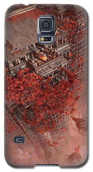 Galaxy S5 Case featuring the digital art Wonders Liyomizu by Te Hu