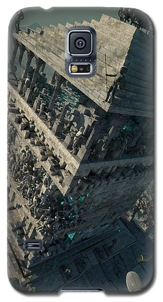 wonders Mausoleum at Halicarnassus Galaxy S5 Case by Te Hu