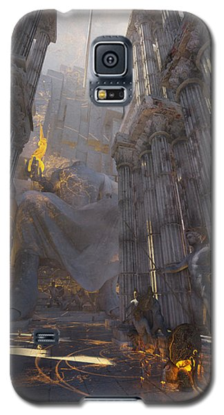 Wonders Temple Of Zeus Galaxy S5 Case by Te Hu