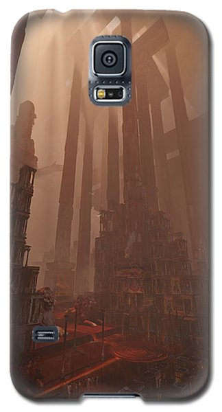 Wonders_temple Of Artmeis Galaxy S5 Case by Te Hu