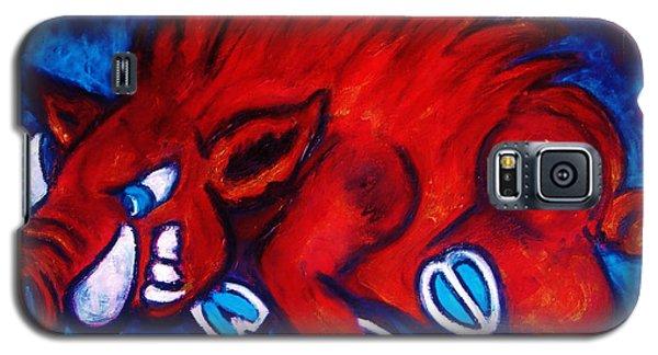 Woo Pig Galaxy S5 Case by Laura  Grisham
