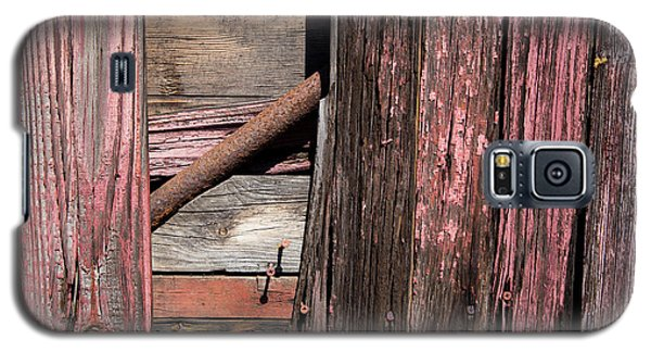 Galaxy S5 Case featuring the photograph Wood And Rod by Karol Livote