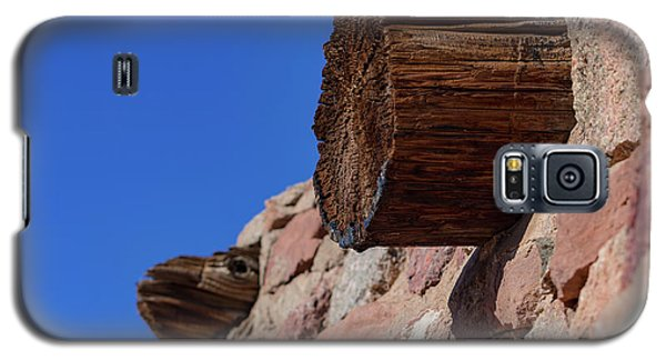 Wood And Stone Galaxy S5 Case