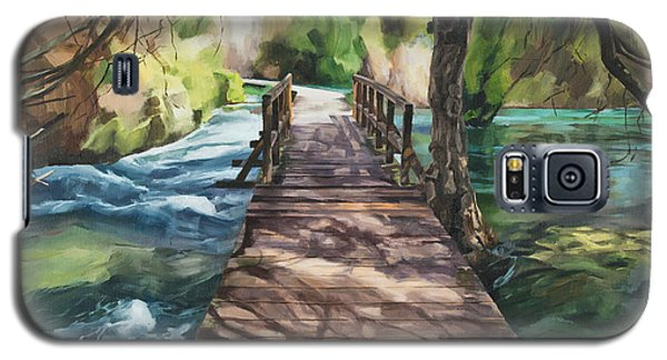 Wooden Bridge Galaxy S5 Case