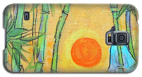 Wood Galaxy S5 Case