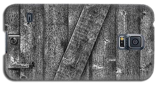 Wood Door With Handle Detail Galaxy S5 Case
