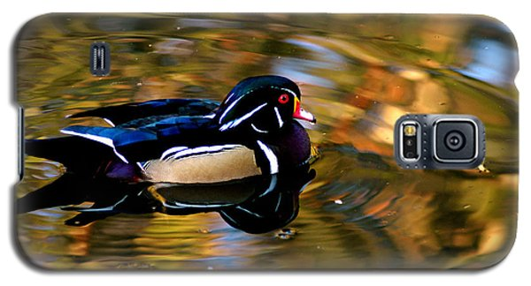 Wood Duck Galaxy S5 Case