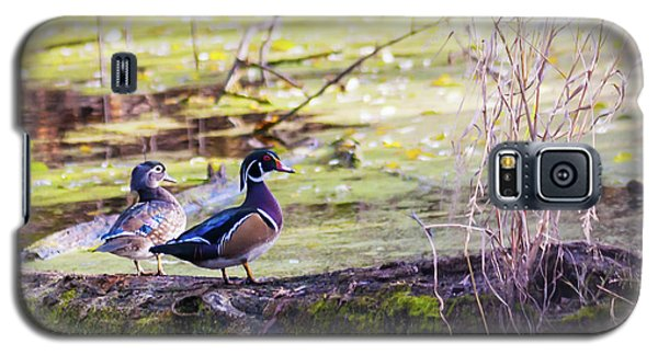 Wood Duck Couple Galaxy S5 Case