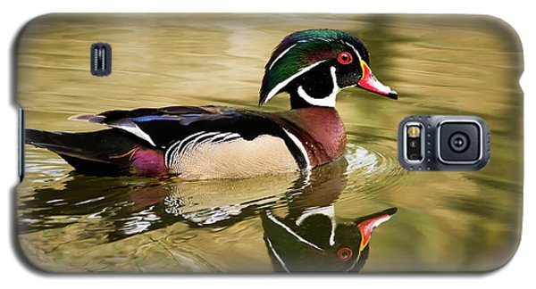 Wood Duck Cruising Galaxy S5 Case