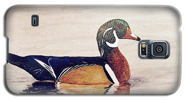 Wood Duck Galaxy S5 Case
