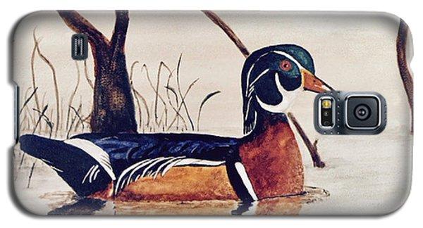 Wood Duck No. 2 Galaxy S5 Case