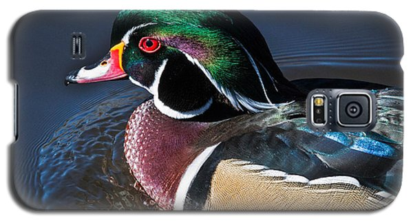 Wood Duck Portrait Galaxy S5 Case