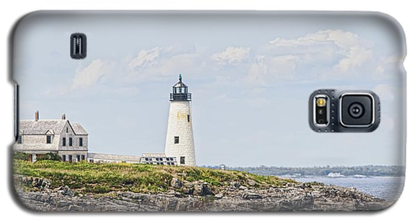 Galaxy S5 Case featuring the photograph Wood Island Light by Richard Bean