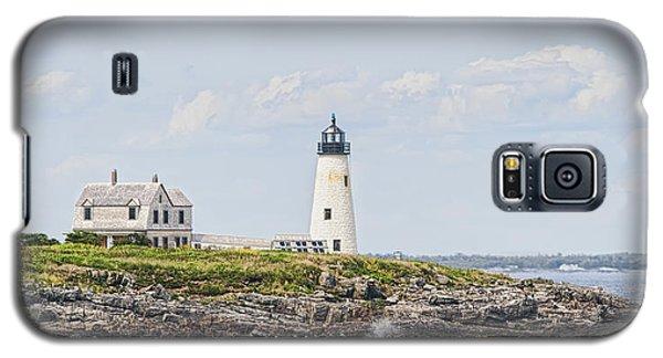 Wood Island Light Galaxy S5 Case by Richard Bean