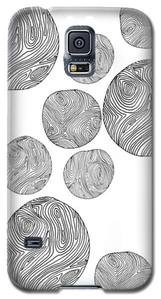 Wood Print Vertical Galaxy S5 Case